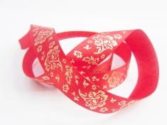 印花织带在天然死染色中使用比较广泛